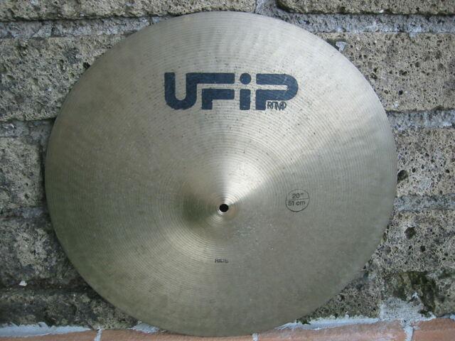 "Piatto ride 20"" ufip ritmo vintage 80's suono favoloso!"