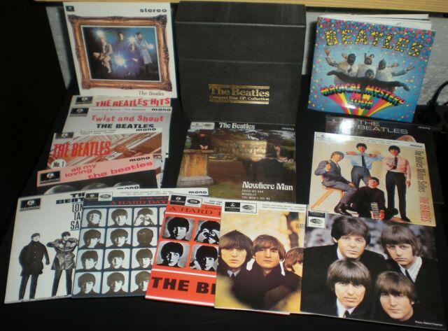 The beatles compact disc e.p. collection box 16cd apple/emi