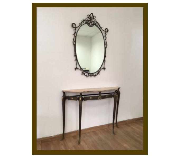 Consolle e specchio stile barocco !!!