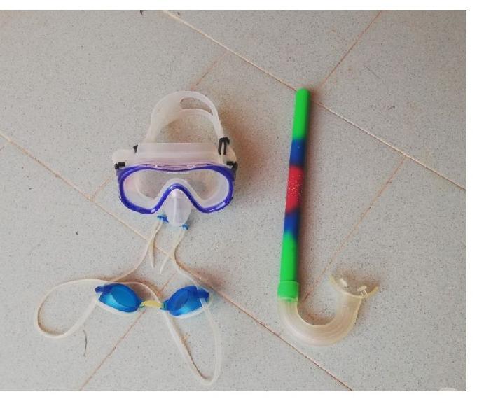 Set snorkeling per bambino