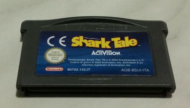 Gioco per nintendo game boy shark tale activision