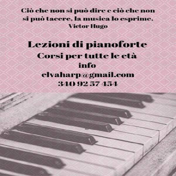 Lezioni di pianoforte a domicilio