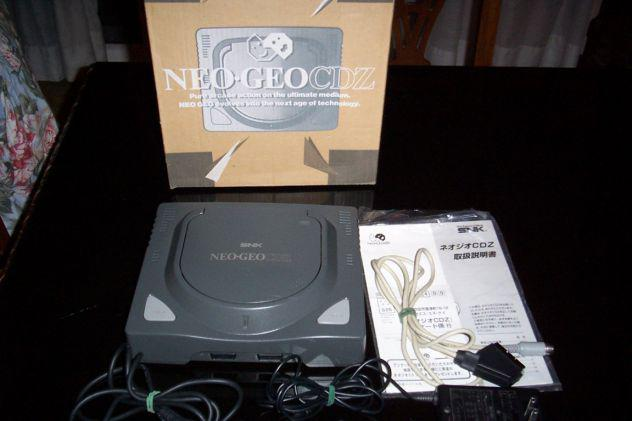 Neo geo cdz 11 giochi e stick arcade controller