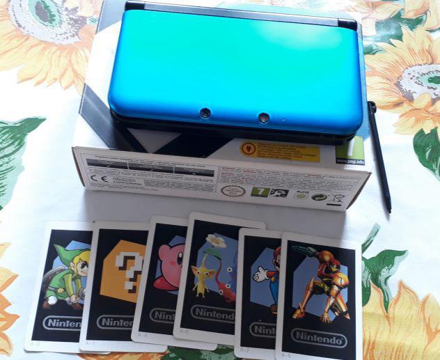Nintendo 3ds xl quasi nuovo + 7 giochi
