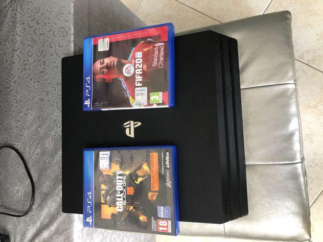 Playstation 4 pro 1tb 4k nuova