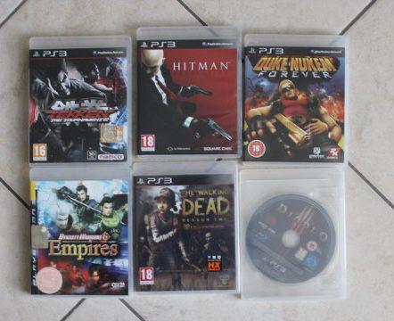 Playstation 3 super slim 6 giochi