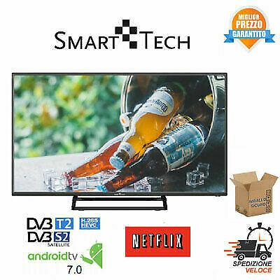 Smart-tech smt 32 pollici hd smart tv wi-fi nero