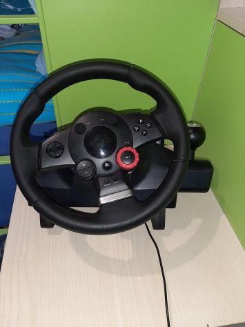 Volante logitech g driving force gt, nero, versione italiana