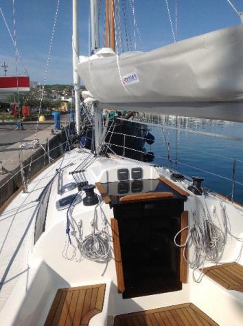 Barca a velaalpa cobra 33 anno2020 lunghezza mt10