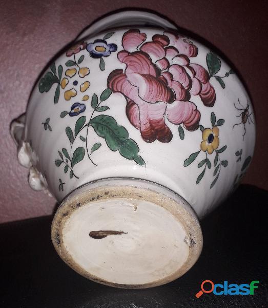 """Brocca antica in maiolica """" Vecchia Lodi"""""""