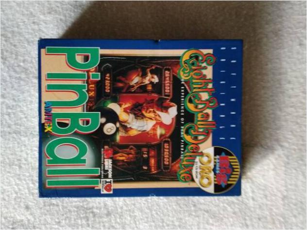 Pinball più due giochi vintage per pc usato