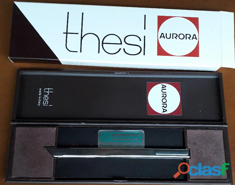 """THESI "" Penna a sfera Aurora in acciaio"