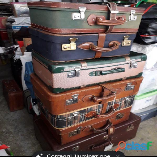 Valigie retrò  vintage bagagli d' antan,