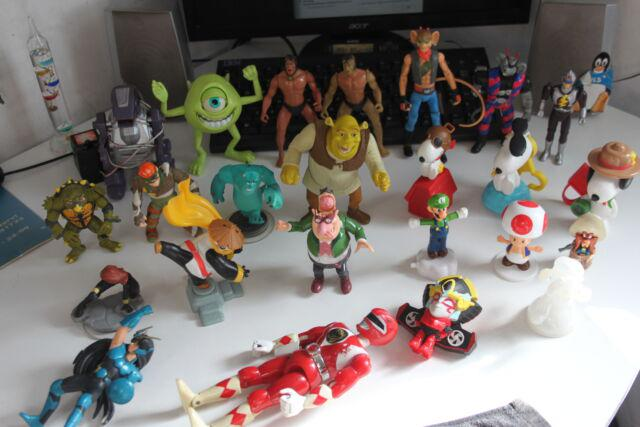 Action figure snoopy happy meal biker mice turles