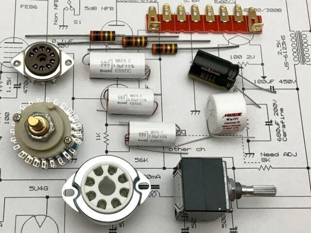 Componenti elettronici per l'audio costruzione