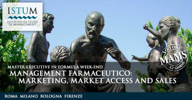 Master in management farmaceutico: marketing, market access