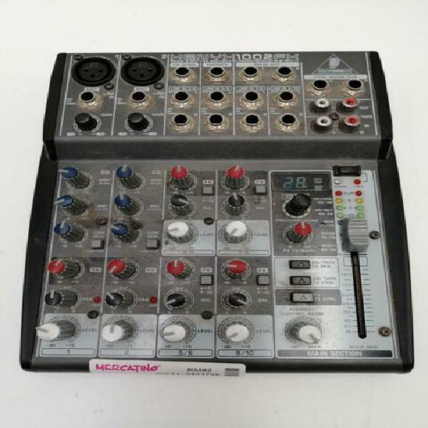Mixer behringer xenyx 1002fx no alim
