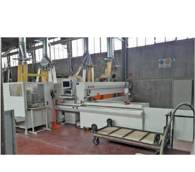 Centro di lavoro integrato per serramento scm windor 100