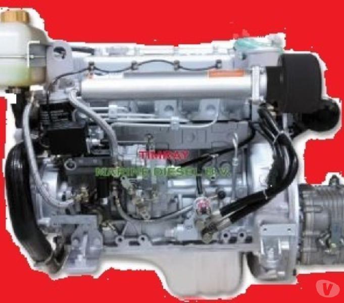 Motore barca entrobordo diesel marino hp 37 nuovo