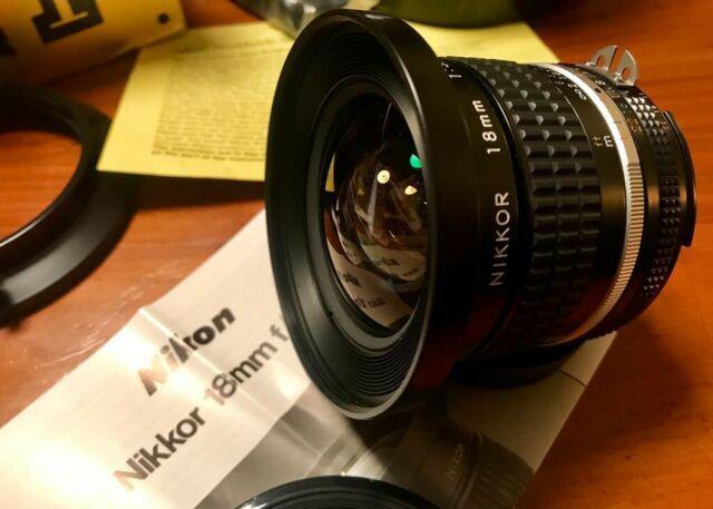 Nikon 18 mm 3.5 ais nikkor perfetto