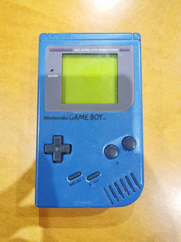 Nintendo game boy dmg-01 blu funzionante vetrino nuovo