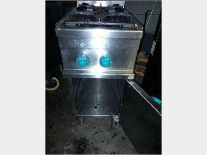 Cucina gas 2 fuochi