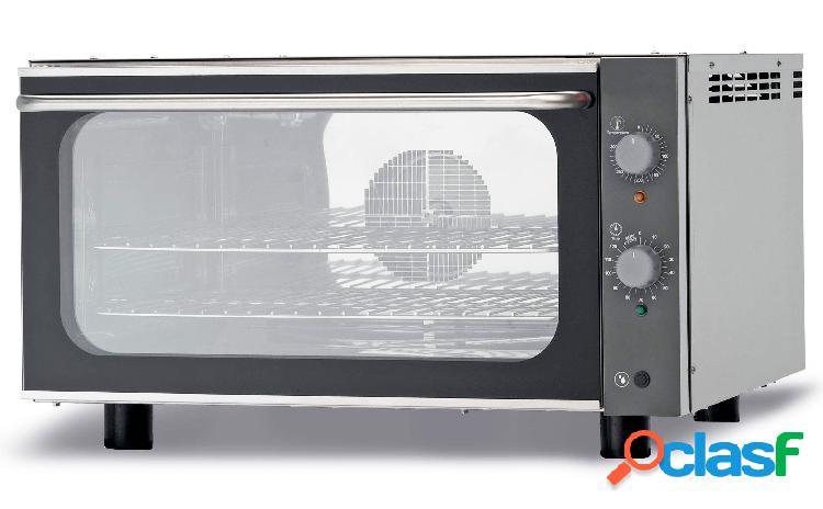 Forno elettrico a convezione per pasticceria con umidificatore, comandi meccanici, monofase per 3 teglie 600x400 mm