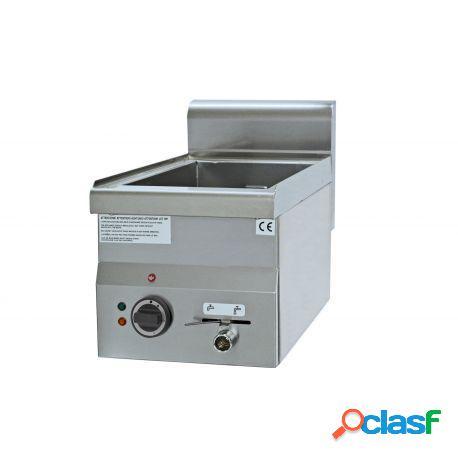 Bagnomaria elettrico da banco predisposto per bacinelle gn h 150 mm, l 400 mm x p 700 mm