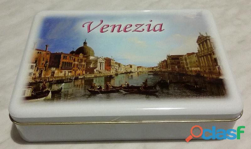 Scatola Di Latta Venezia Pasticceria Veneta anni '70 perfetto