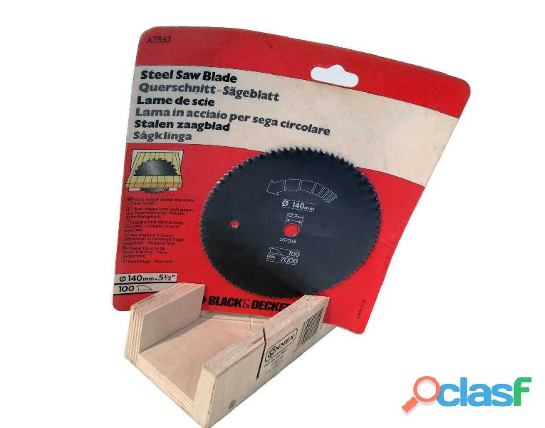 Stock 19 lame Black & Decker A7563 d. 140 mm