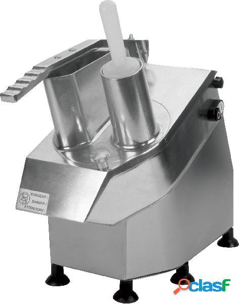 Tagliaverdura elettrico monofase con kit 5 dischi - potenza 380 w - velocità 320 rpm