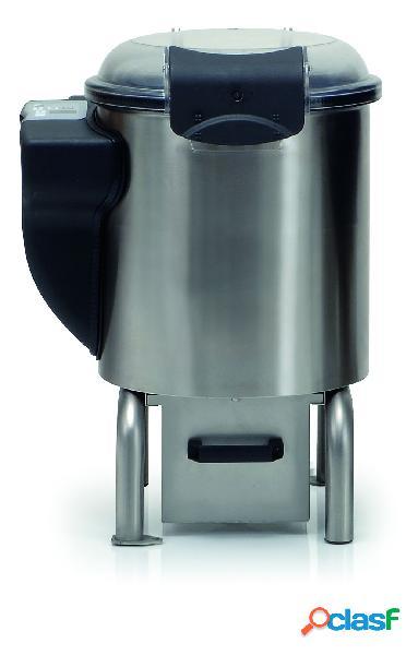 Puliscicozze da pavimento con cavalletto, monofase, capacità 5 kg, produzione 75 kg/h