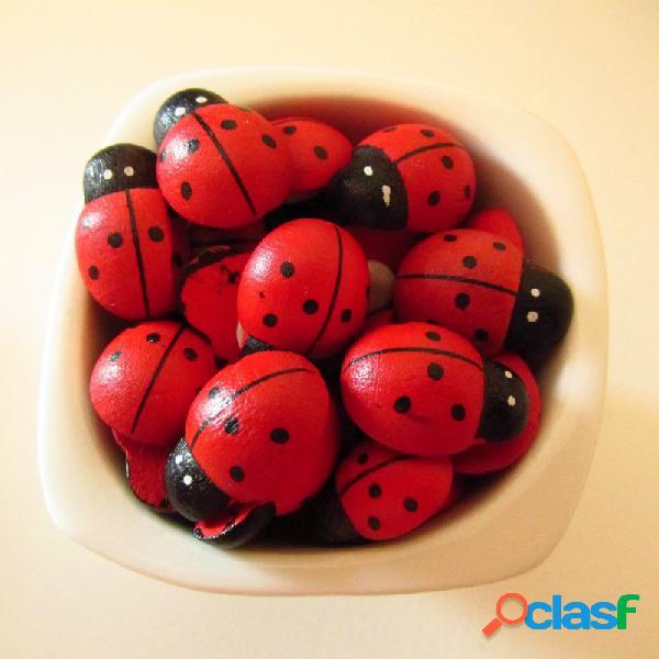 48 coccinelle adesive laurea - 2 cm