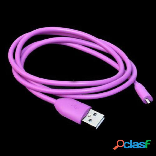 Cavo usb 2.0multimarca colore viola