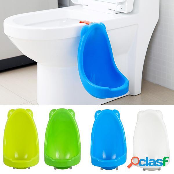 Bambino in piedi in piedi vasino toilette orinatoio bambino appeso pee trainer