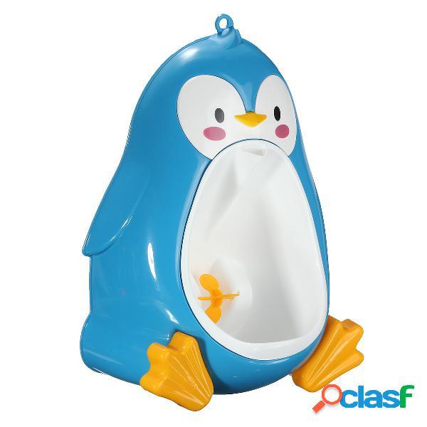 Bambino pinguino bello del bambino del urinal di potties boys pee trainer bambini bagno smontabile della toletta
