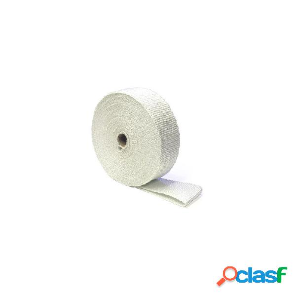 Benda termica collettori di scarico 822° bianco 50mm 10mt