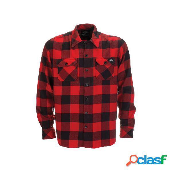 Camicia dickies sacramento rosso
