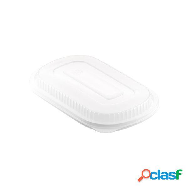 Coperchi contenitori monouso polipropilene trasparenti duni cm 24 x 15 - plastica monouso - trasparente