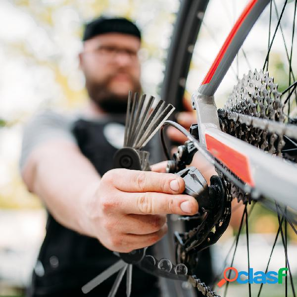 Kit multifunzione ripara bicicletta 15 in 1