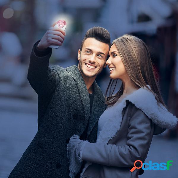 Luce led ad anello per smartphone
