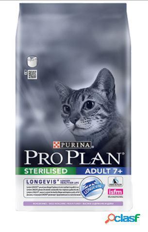 Proplan gatto sterilizzato 7+ al tacchino 1.5 kg