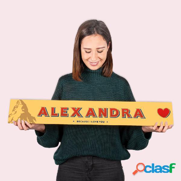 Toblerone xxl personalizzato - amore - 4,5 kg