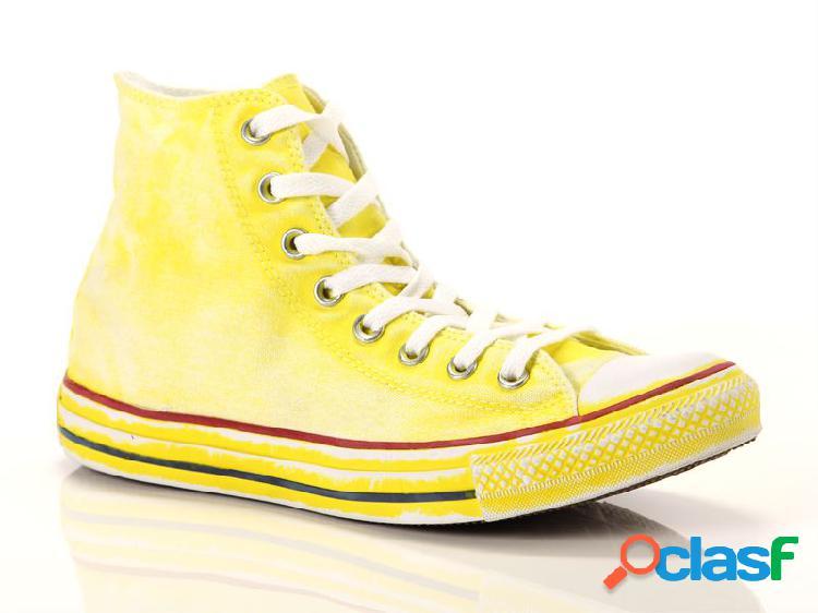 Converse all star hi canvas ltd yellow, 36 grigio