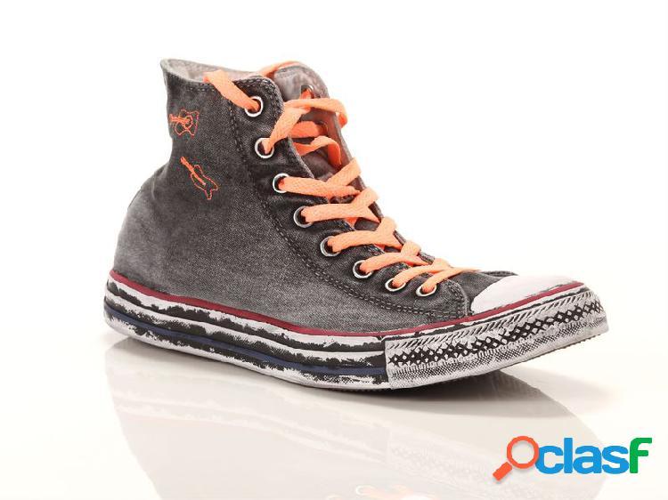 Converse chuck taylor all star high limited edition nere corallo, 36 grigio