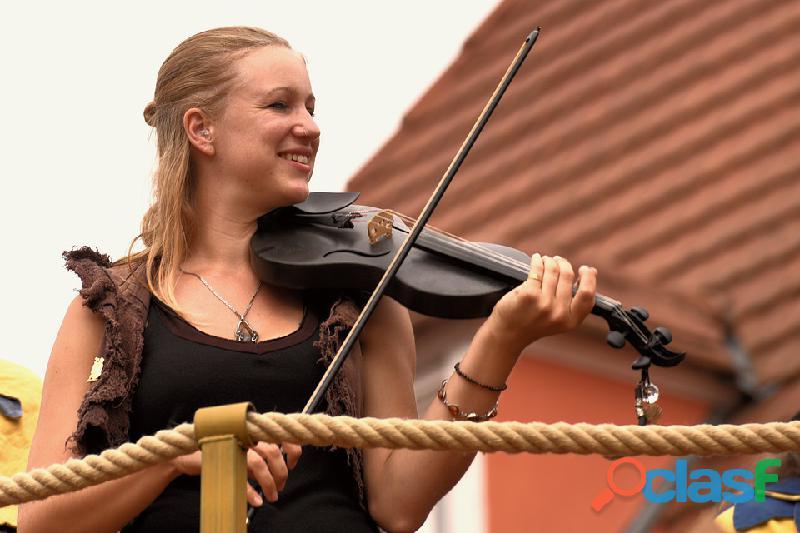 Violinista e pianista
