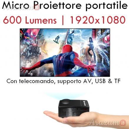 Micro videoproiettore portatile led