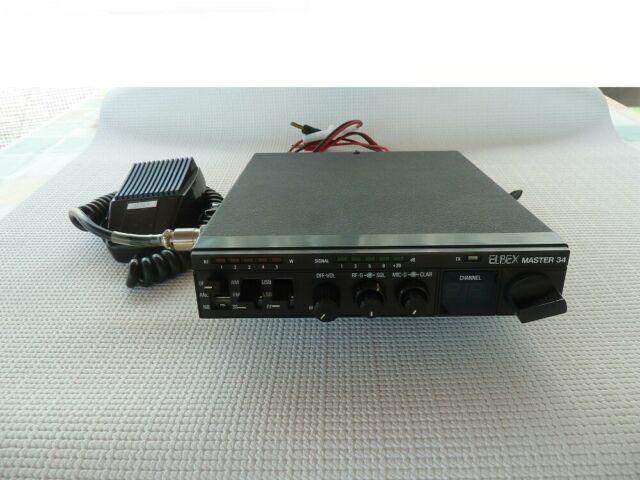 Ricetrasmettitore cb 27 mhz omologato elbex master 34