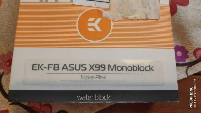 Water block ek asus x99