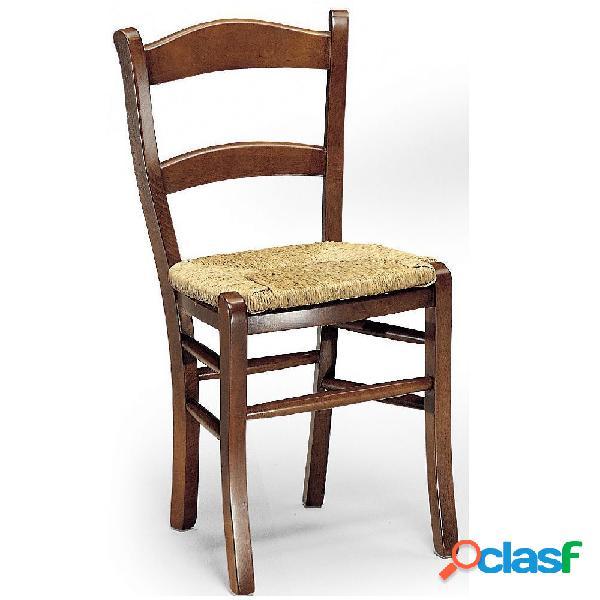 Sedia faggio seduta paglia 【 OFFERTES Luglio 】 | Clasf